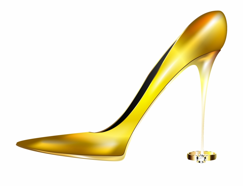 Picture Freeuse Library Heels Vector Gold Heel.
