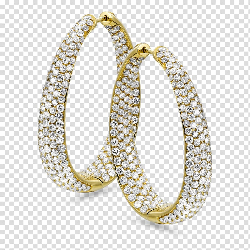 Earring Body Jewellery Silver, hoop earring transparent.