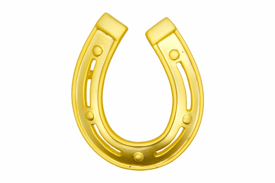 Gold Horse Shoe Png.