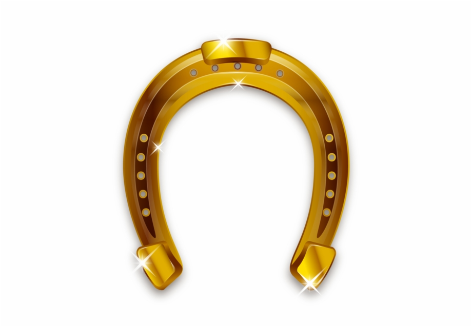 Gold Horseshoe Png.