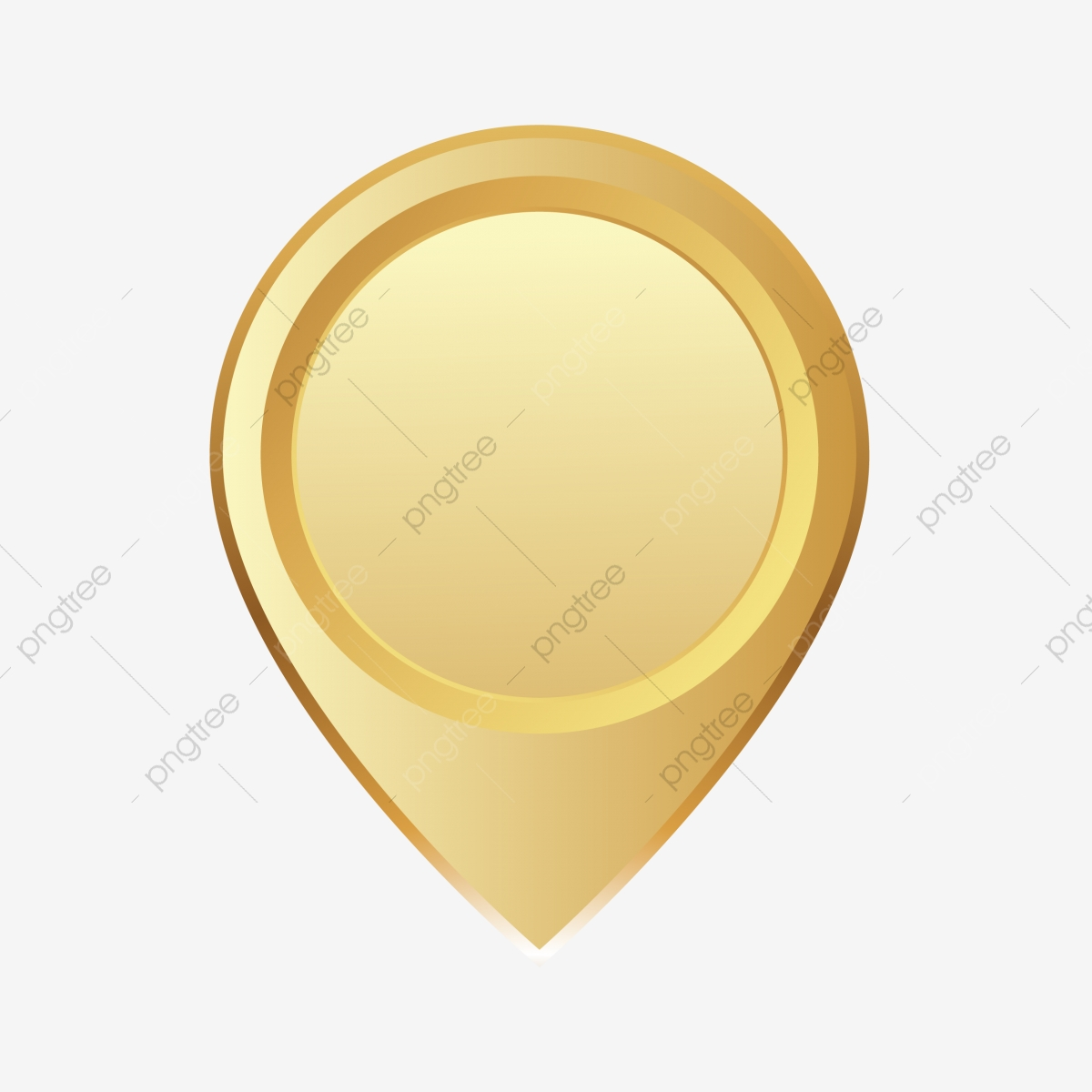 Location Gold Icon Vector, Location, Clipart, Landmark PNG and.