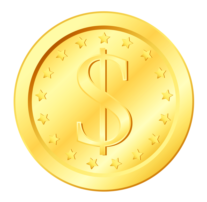 Download Free png Coin Transparent Gold Icon Free Photo PNG.