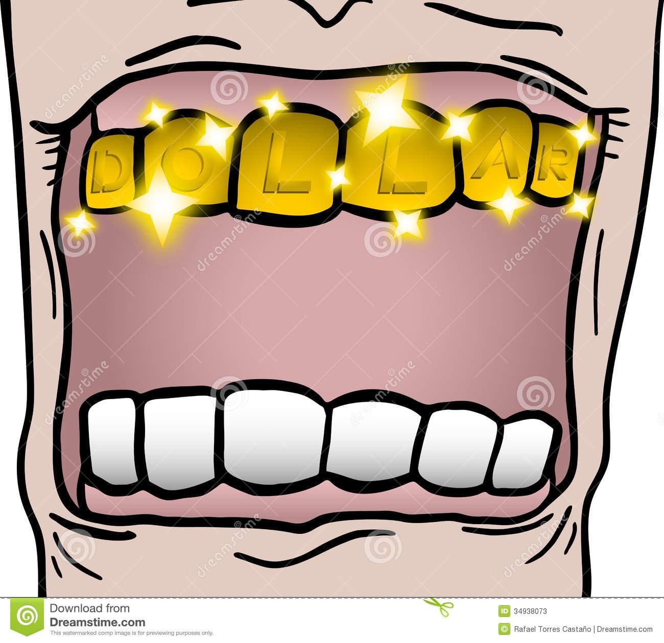 Gold Tooth Stock Photos.