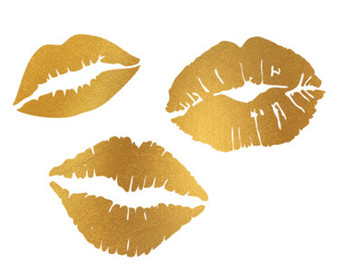 Lips clip art.