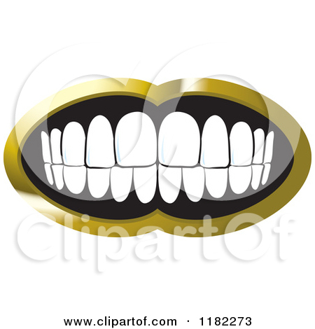 Gold in the mouth clipart - Clipground