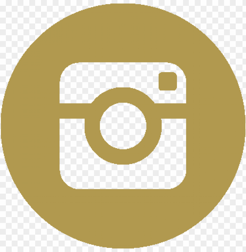 instagram logo gold vector PNG image with transparent.
