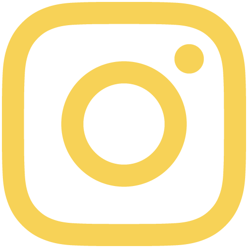 Gold Instagram Logo for DI.