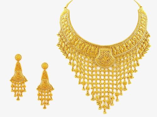 Gold Jewelry, Jewelry Clipart, Jewelry, Jewelry Set PNG Transparent.