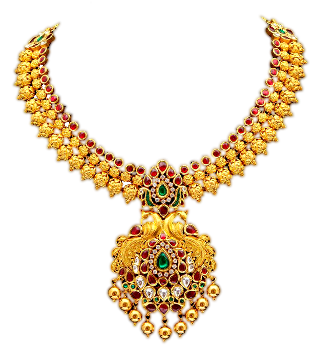 Gold Jewellery PNG Image Transparent.