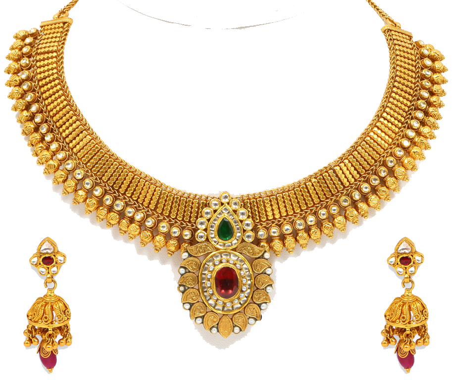 Download Gold Jewelry PNG Transparent Image.