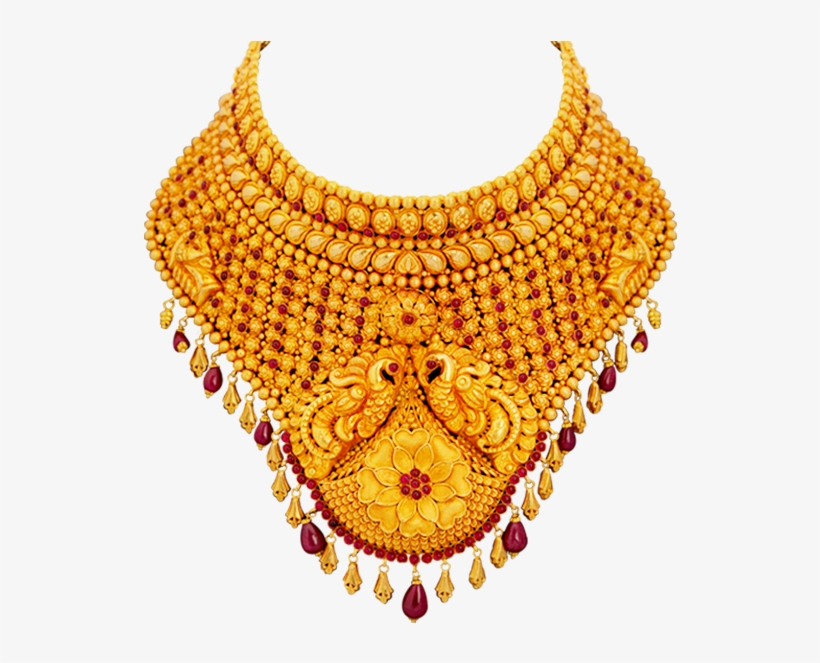 Gold Jewellery Free Png Image.