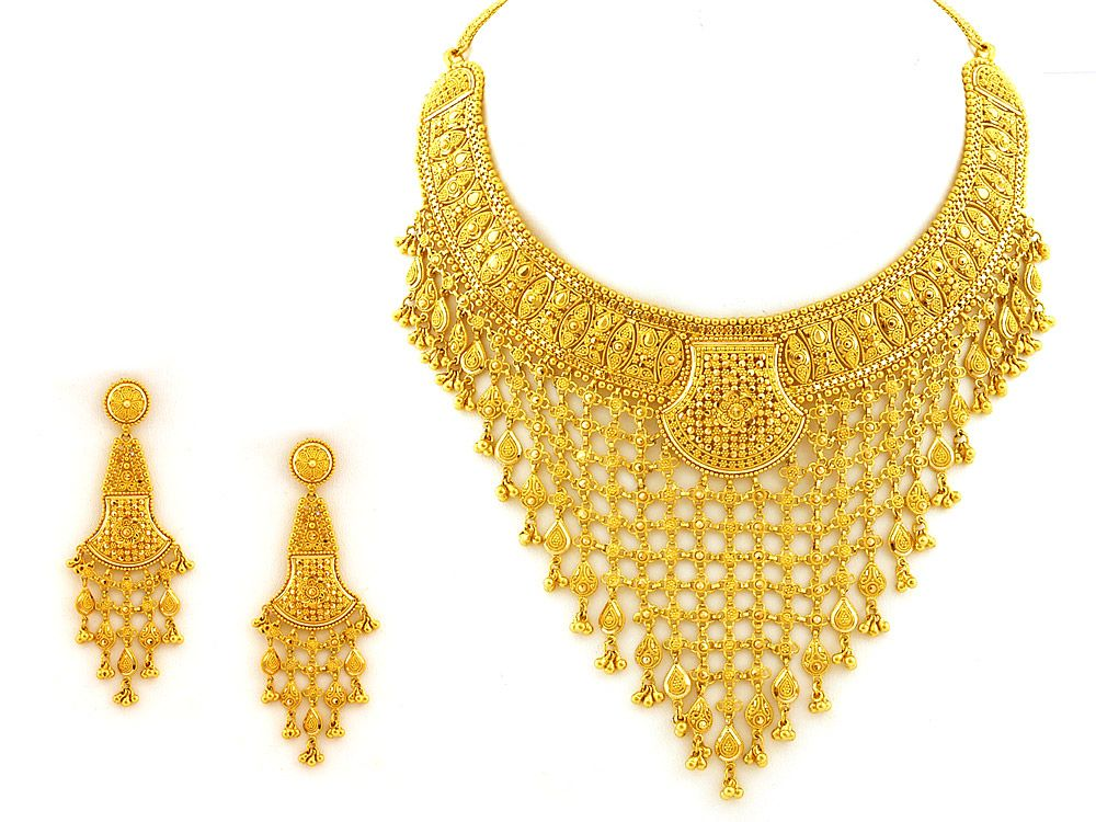 22Kt Indian Gold Jewellery.