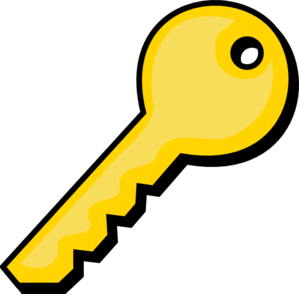 Gold Key Clip Art at Clker.com.