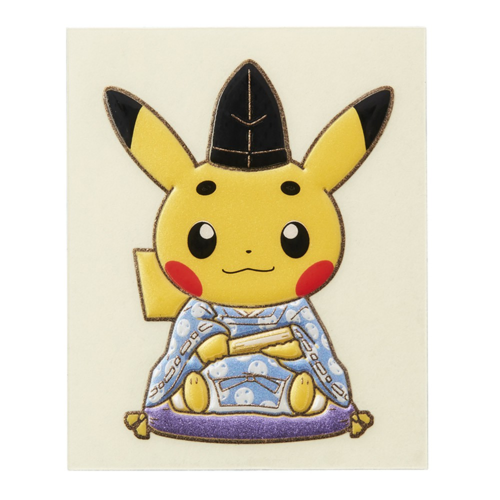 Japan Pokemon Center Limited] gold lacquer Maiko&Court noble.