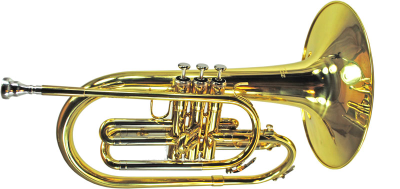 Mellophone Gold Lacquer.