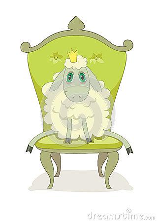 Cartoon Lamb Royalty Free Stock Photography.