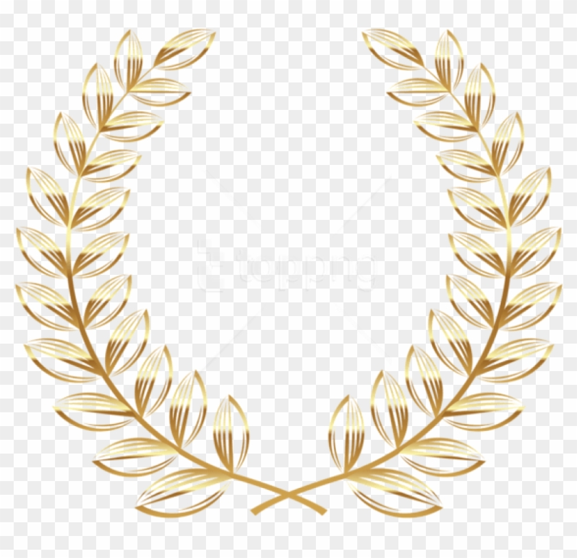 Free Png Download Golden Wreath Transparentpicture.