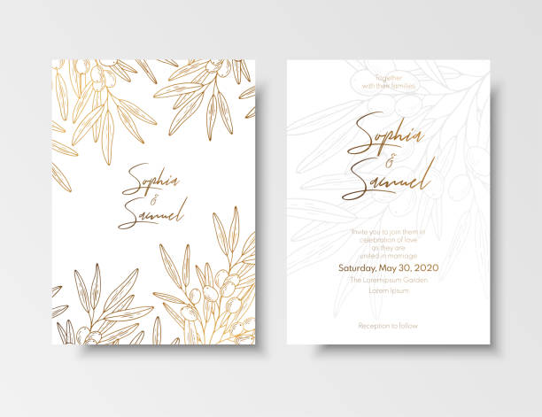 Best Gold Leaf Border Illustrations, Royalty.