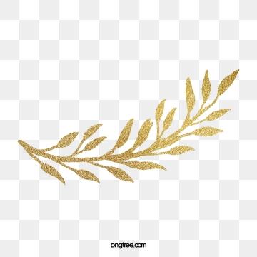 Golden Leaves PNG Images.
