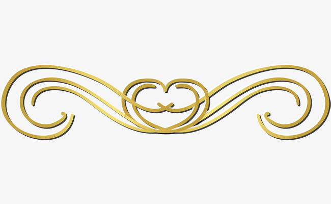 Gold line clipart 5 » Clipart Station.