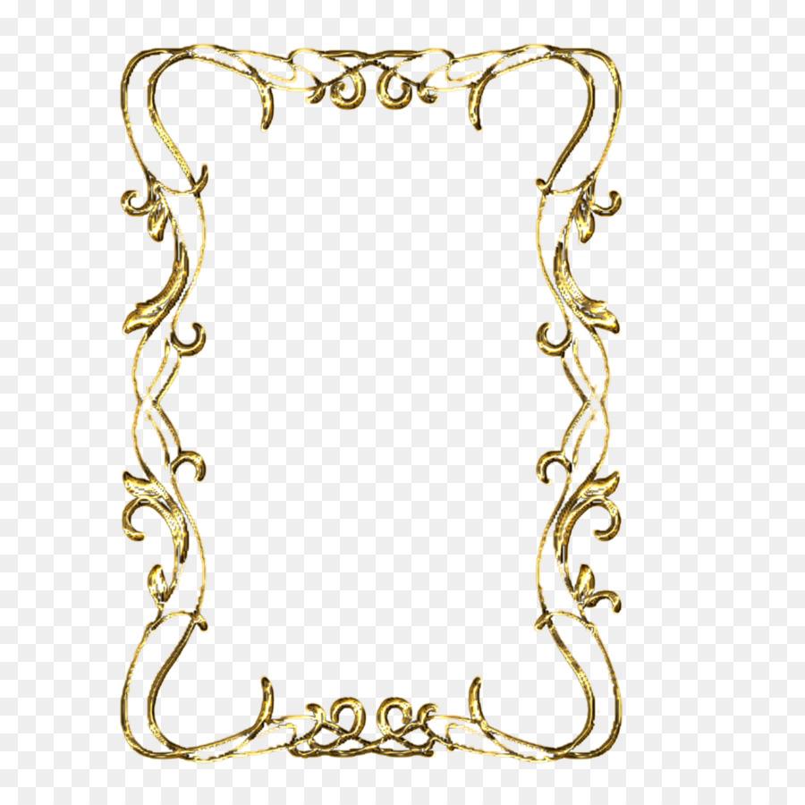 Gold Background Frame clipart.