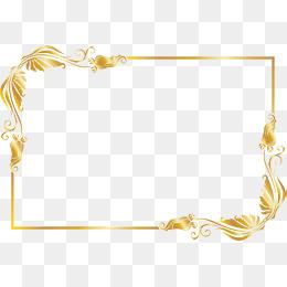 Gold Underline Clipart.