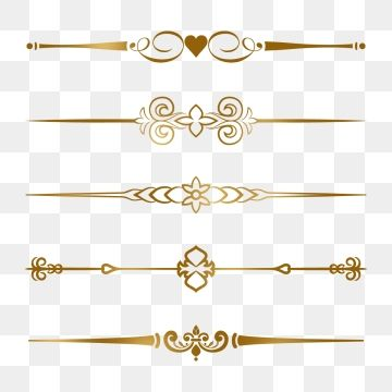 Gold Border Clipart Png in 2019.