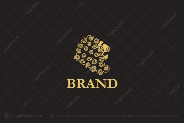Exclusive Logo 53384, Golden Lion Logo.