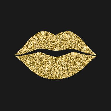 1,702 Gold Lips Stock Illustrations, Cliparts And Royalty Free Gold.