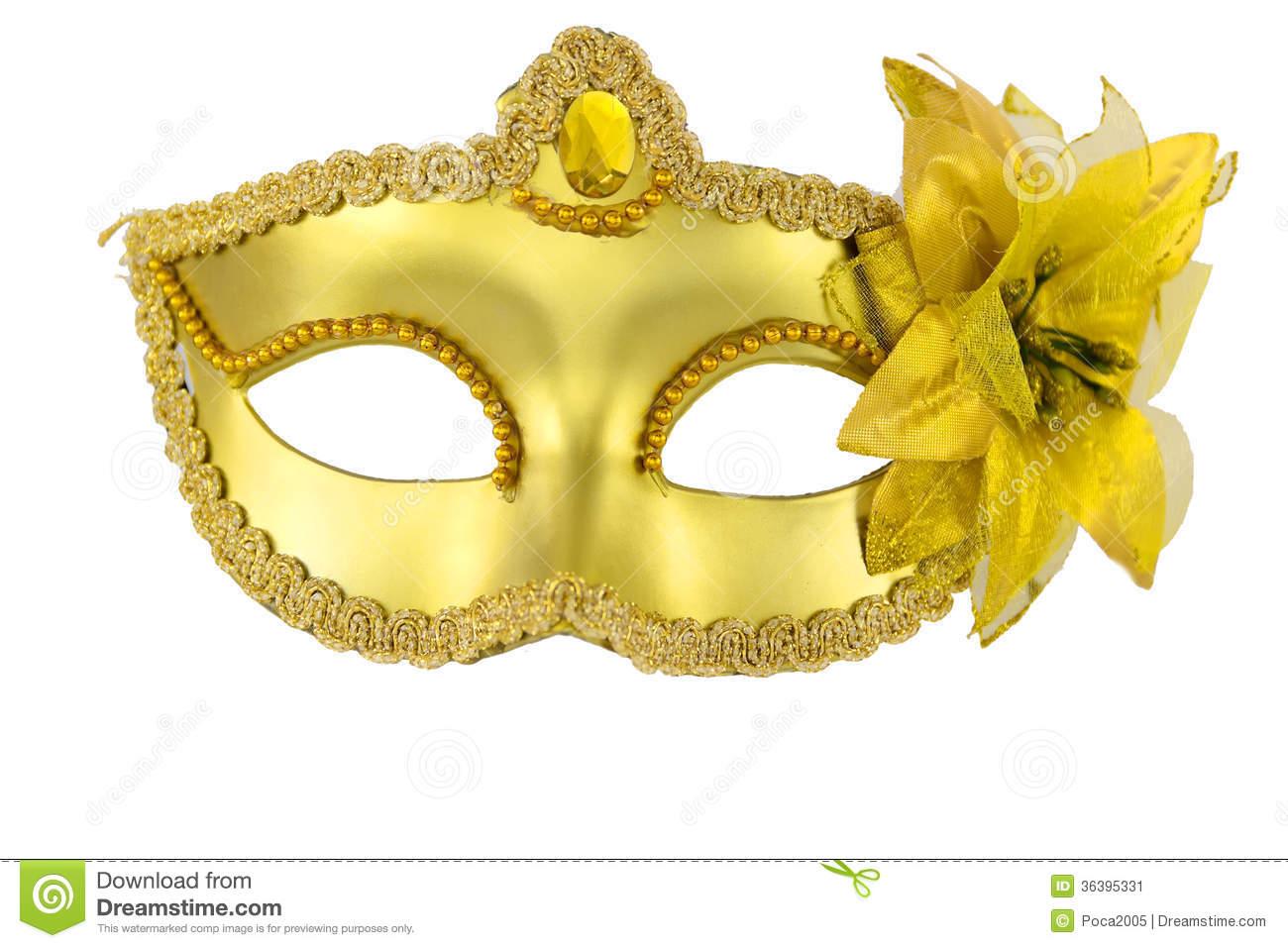 Carnival Mask Stock Image.