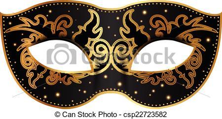 Gold mask Clipart Vector Graphics. 1,750 Gold mask EPS clip art.