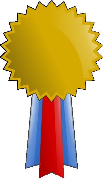 Gold Star Medal Clipart.