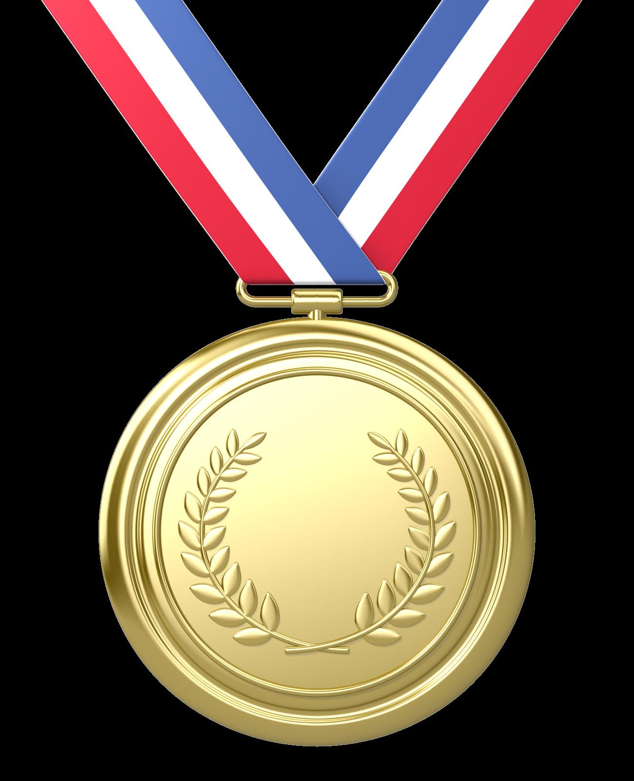 Gold Medal Winner Clipart.