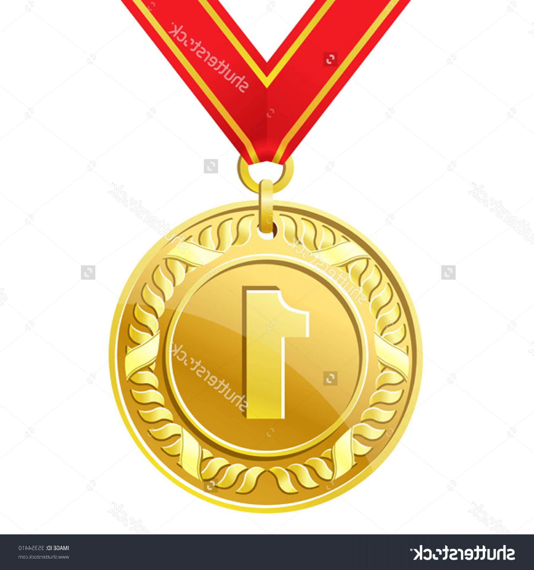 Olympic Gold Medal Clipart Free.