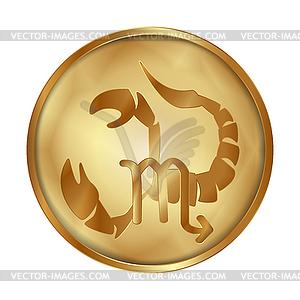 Scorpio gold medallion drive.