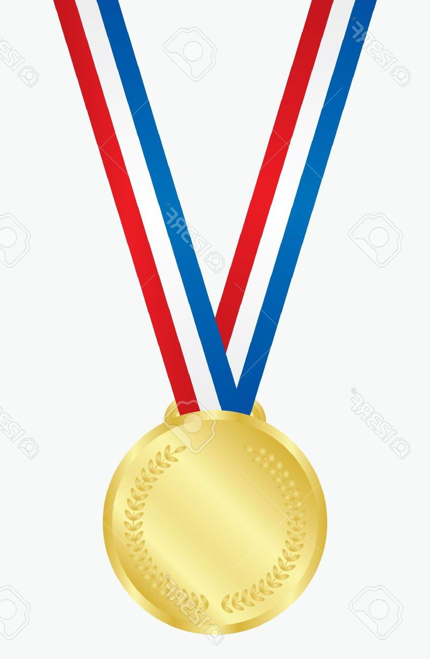 Gold Medal Clipart.