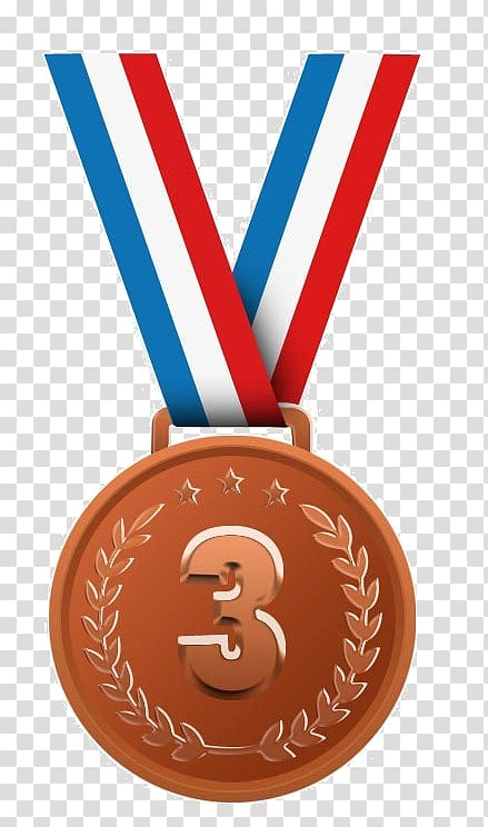 Gold medal Silver medal Bronze medal Olympic medal, medal.