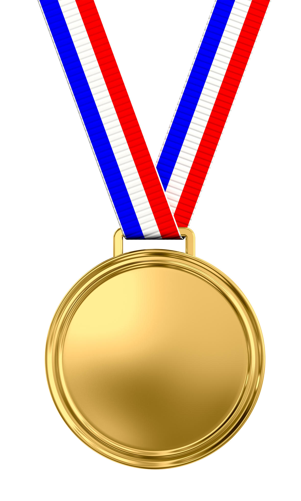 Gold Medal Transparent Background.