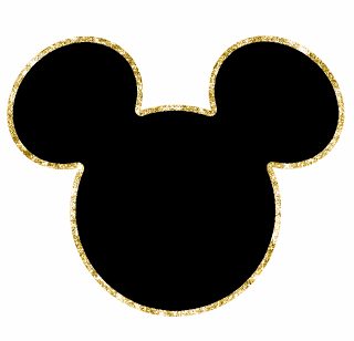 Mickey Heads with Sparkling Border, Free Printables..