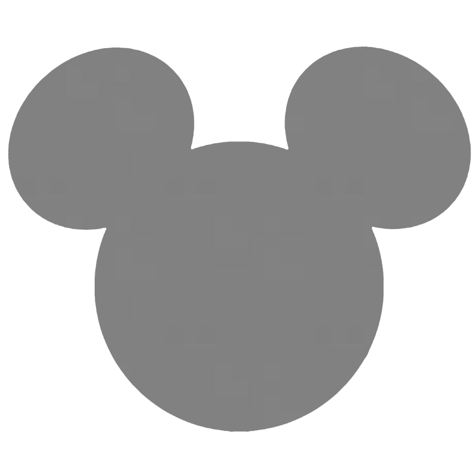 Gold Mickey Head Clipart Clipground
