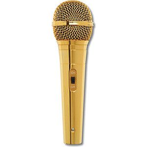 Microphone clipart gold #1303 in 2019.