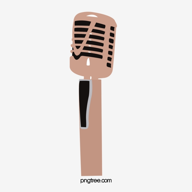 Golden Microphone Png, Vector, PSD, and Clipart With Transparent.