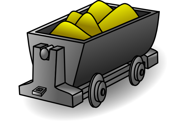 Gold mine clipart.