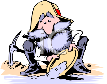 Gold Miner Clipart.