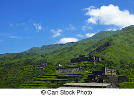 Stock Photo of Shuinandong Smelter of gold museum park csp10314849.