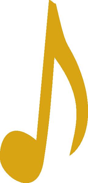 Gold Note Clip Art at Clker.com.