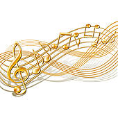 Musical notes Clip Art Vector Graphics. 26,371 musical notes EPS.