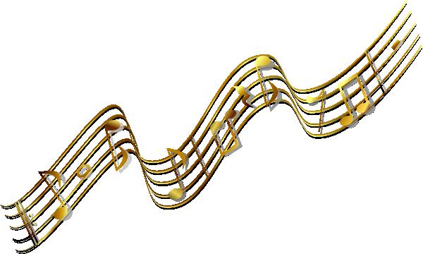 Gold Music Banner Clip Art at Clker.com.