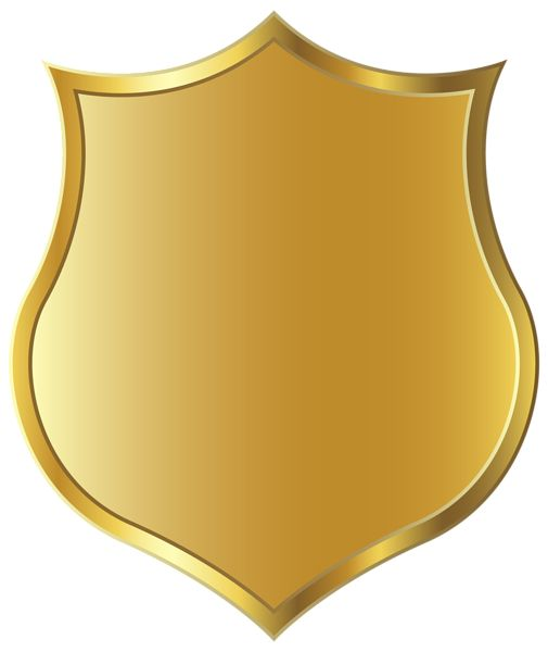 Golden Badge Template PNG Clipart Picture.