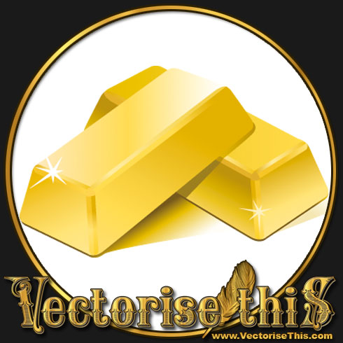 Gold Nugget Free Clipart.